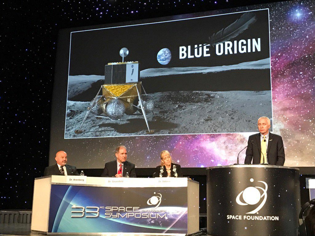 Blue Origin's Rob Meyerson Talks About Blue Moon