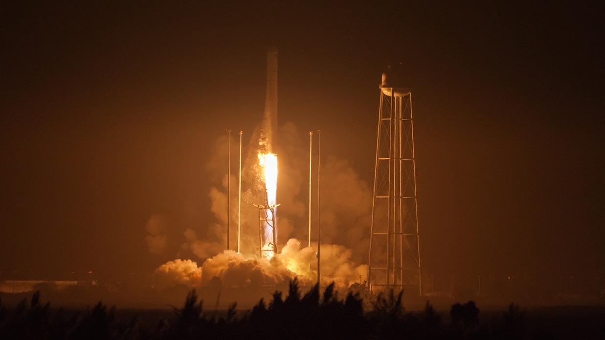 Liftoff of OA-5