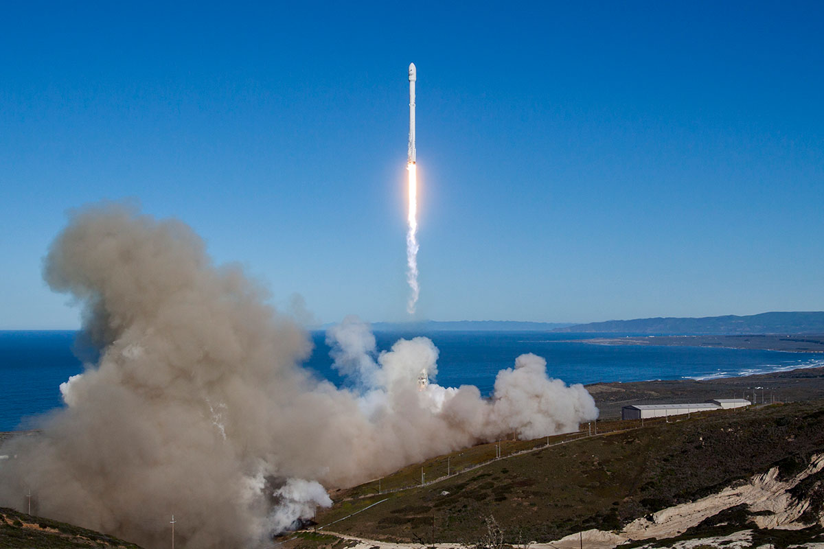 SpaceX Iridium-1 Launch